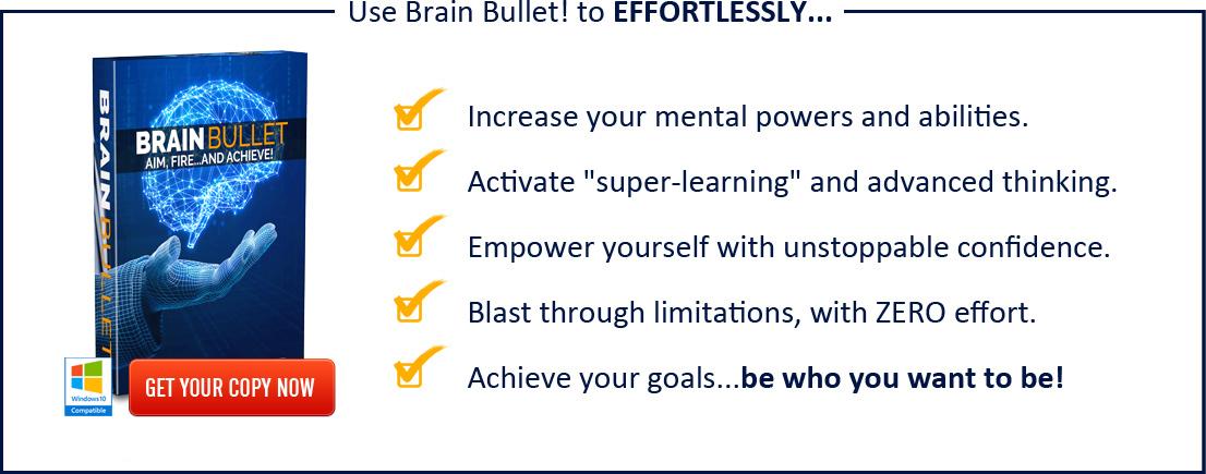 BrainBullet com - The Ultimate Subliminal Brain Power